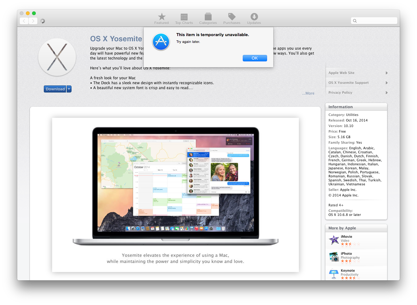 Is Yosemite For Mac Available In Spanish