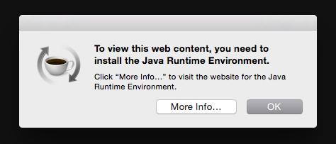 Java Runtime Warning Randomly Pops Up Apple Community