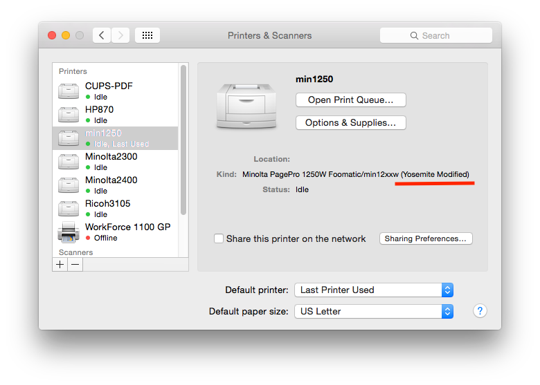 Minolta pagepro 1100 windows xp driver download