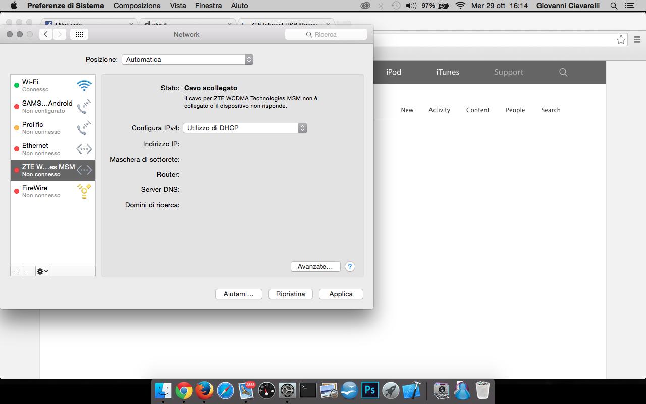 ZTE Internet USB Modem not working anymor… - Apple Community