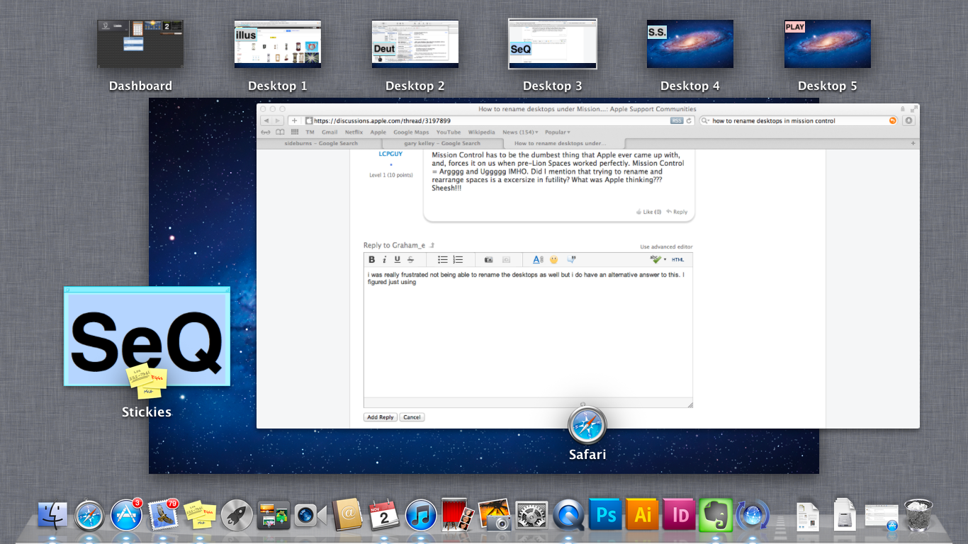 mac os x lion name desktops
