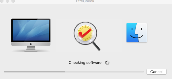 Help with Etrecheck, continues checking s… - Apple Community