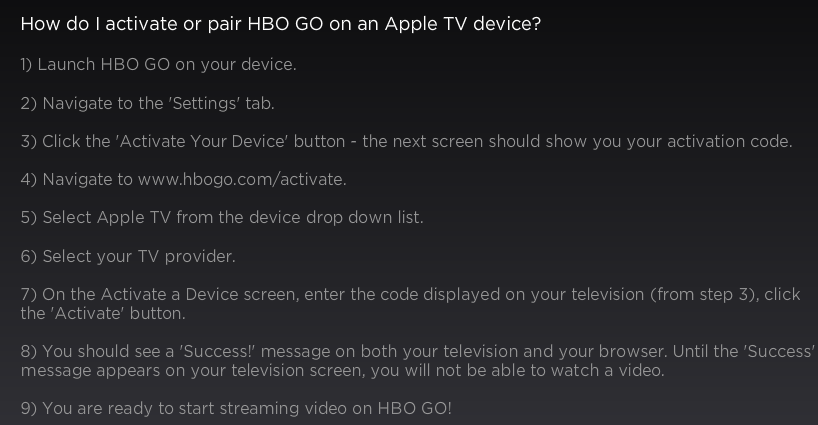 How to activate the HBO GO app on my Samsung Smart TV - Quora