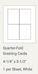 Making A 4 Fold Greeting Card With Pages Apple Community