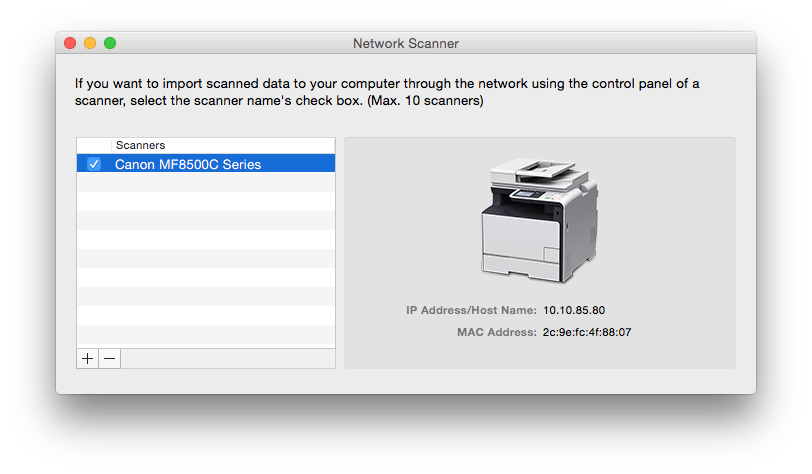 Can't get Yosemite to find my scanner… - Apple Community