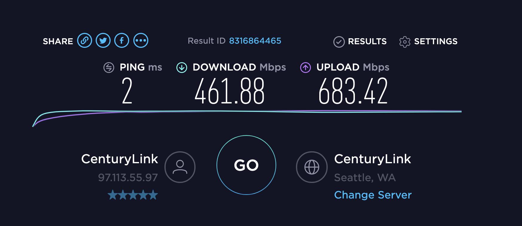 Gigabit internet, download is slower than… - Apple Community