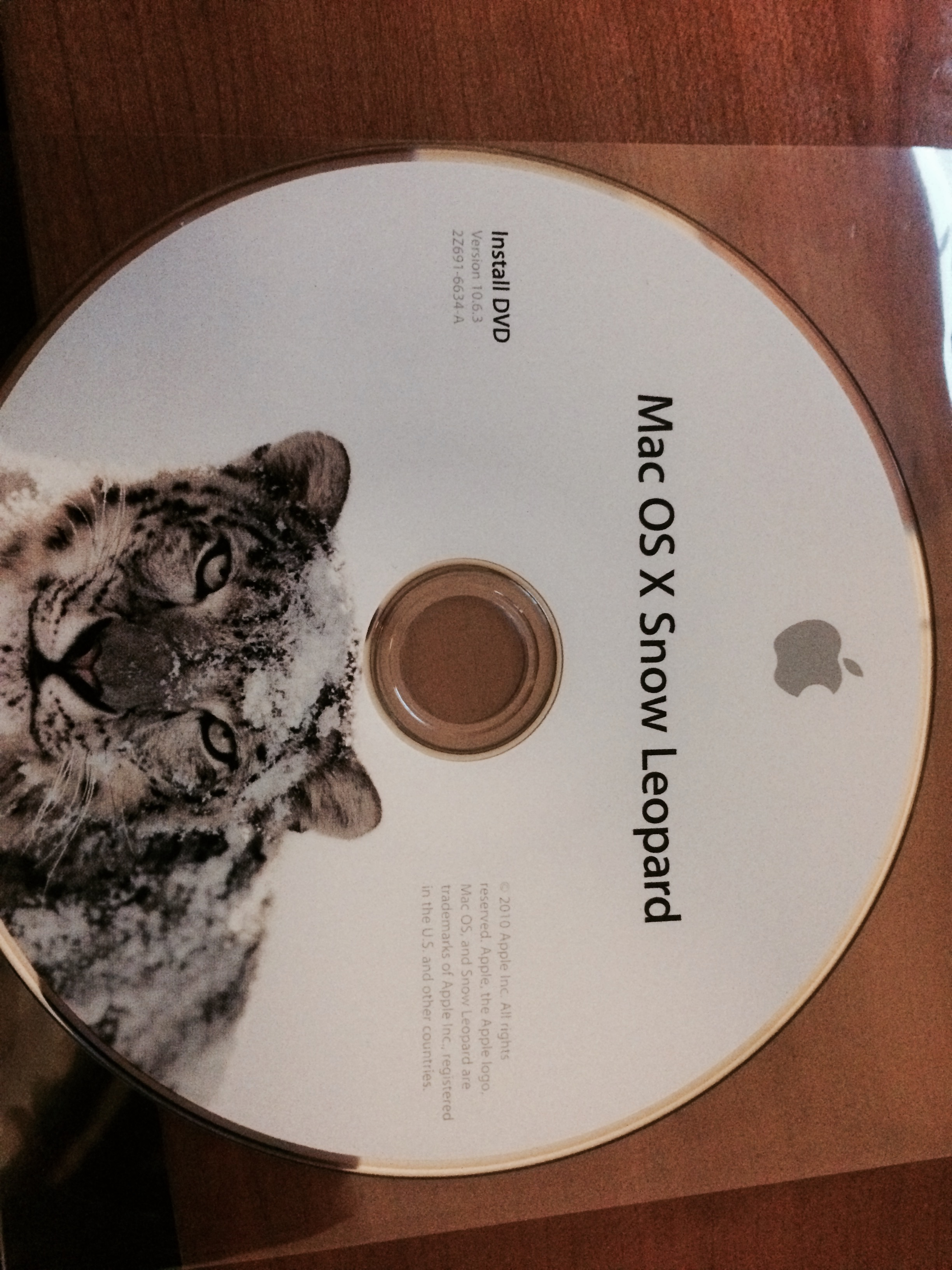 Snow Leopard install disc fails on 4,1 Ma… - Apple Community