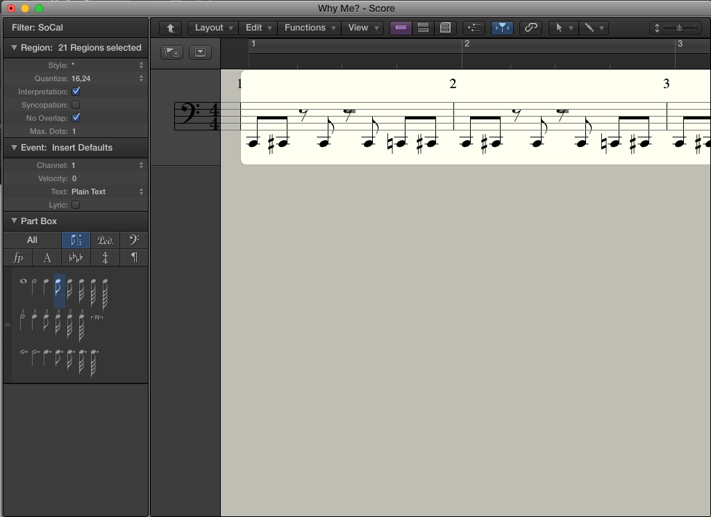 How do you export a drum track to Music X… - Apple Community
