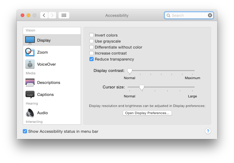 How can I manually change contrast/bright… - Apple Community