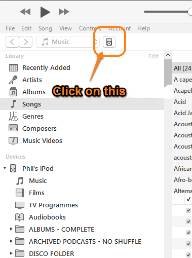 iTunes main window needs to appear in Win… - Apple Community