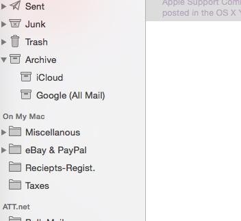 Archive folder in Apple Mail is heavily p… - Apple Community