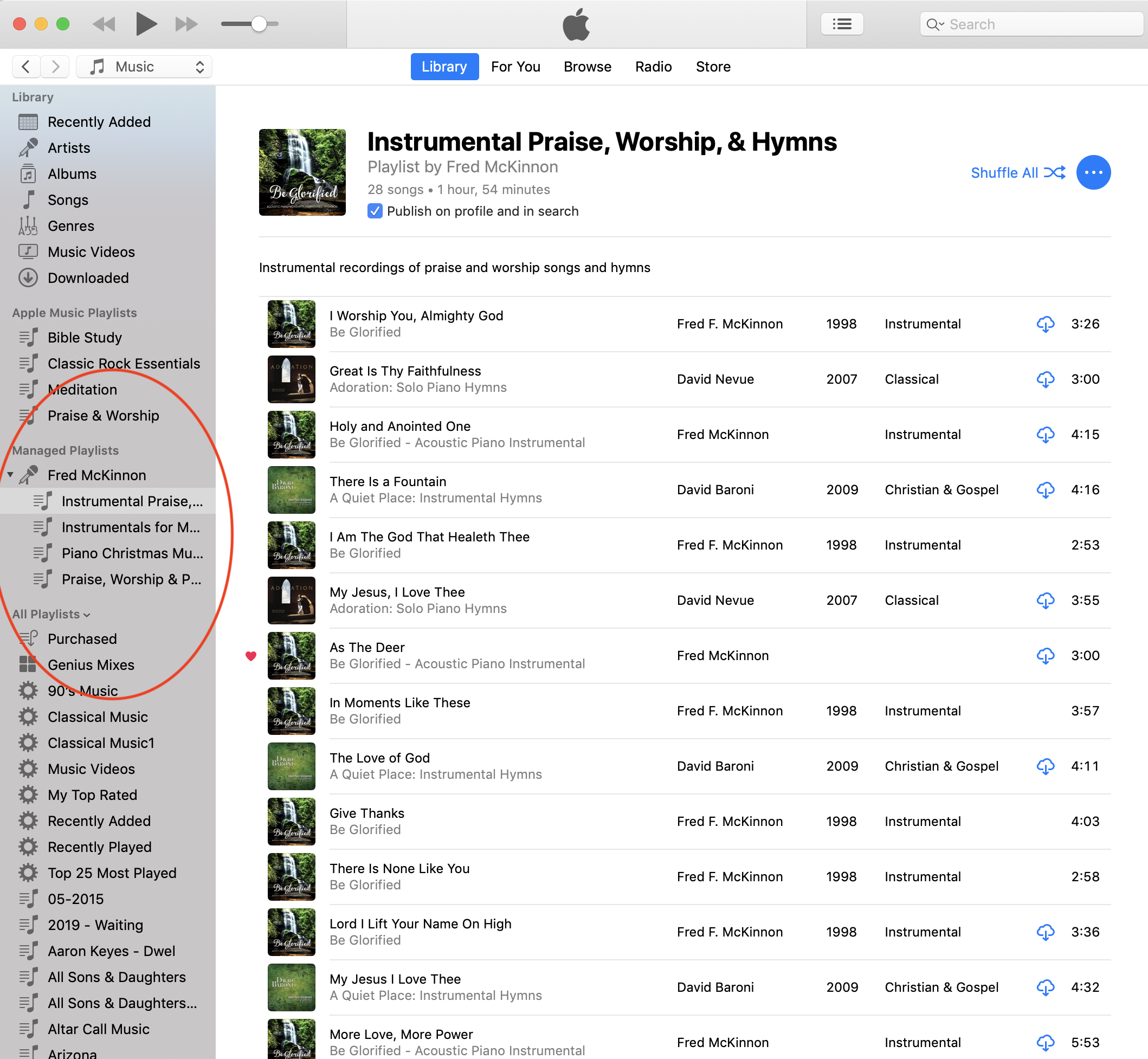 Difference between Artist Managed Playlis… - Apple Community
