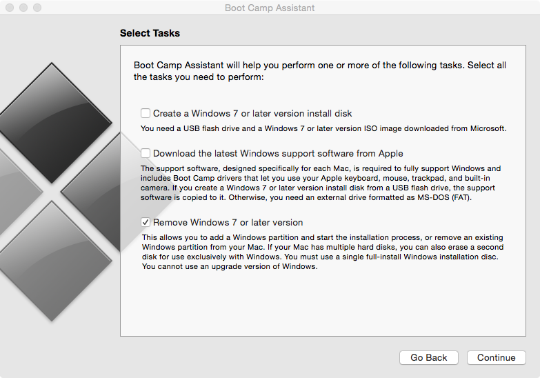 How to install Windows? Missing checkbox … - Apple Community