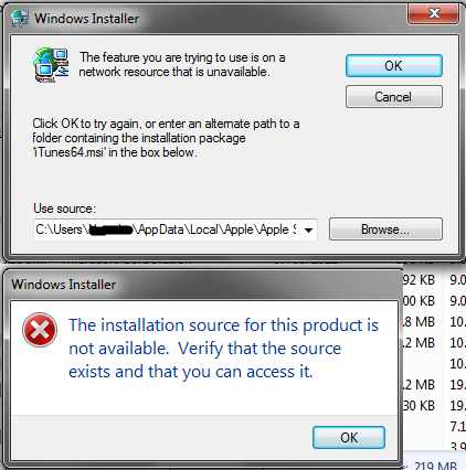 iTunes exe - Entry Point Not Found after … - Apple Community