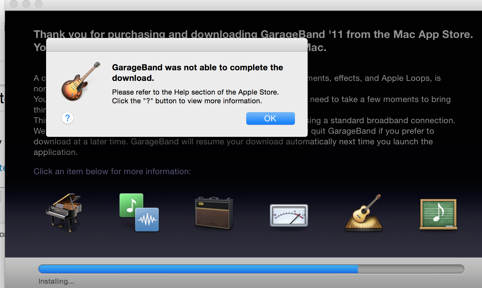 How can I get Garage Band 11 to completel… - Apple Community