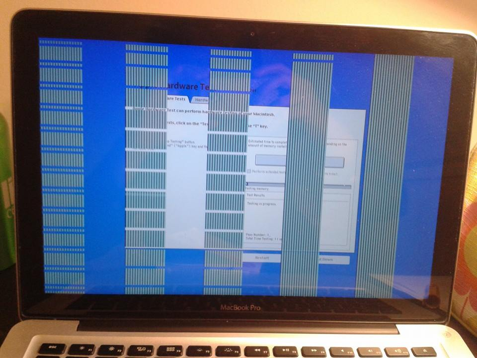 Macbook Pro Lines On Screen