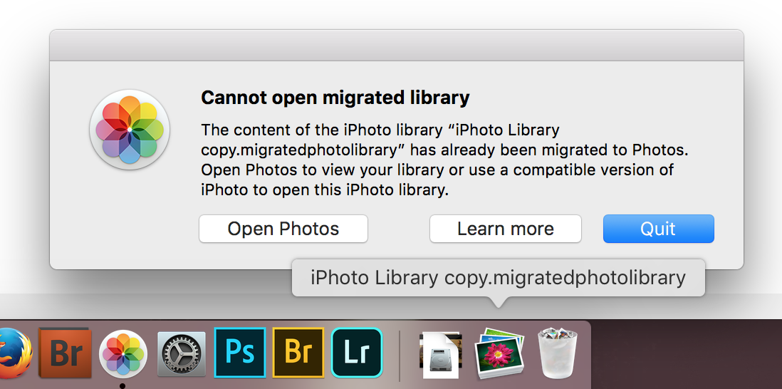 How do I get my photos from iPhoto? - Apple Community