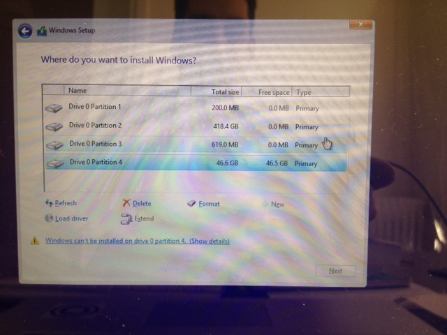 Windows cannot be installed to this disk … - Apple Community
