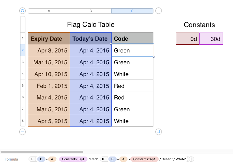 Numbers - Using dates in 'If' Sta… - Apple Community