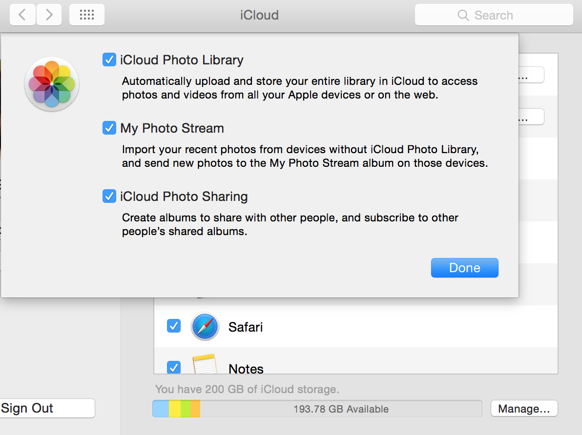 iphoto updating photo library