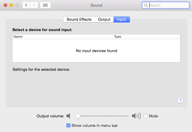 No audio output or input device after Yos… - Apple Community