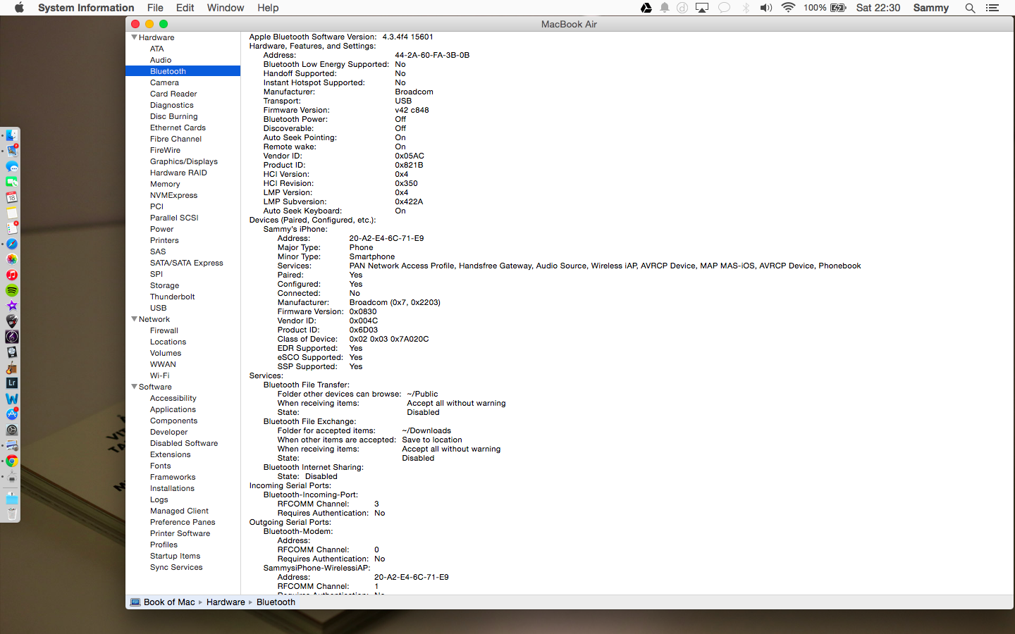Does the Macbook Air Mid 2012 not have Bl… - Apple Community