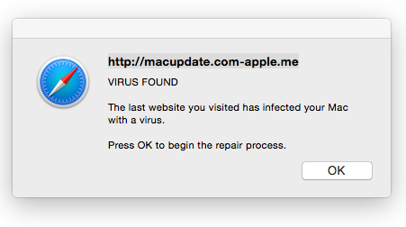 macupdate com says I have a virus (in saf… - Apple Community
