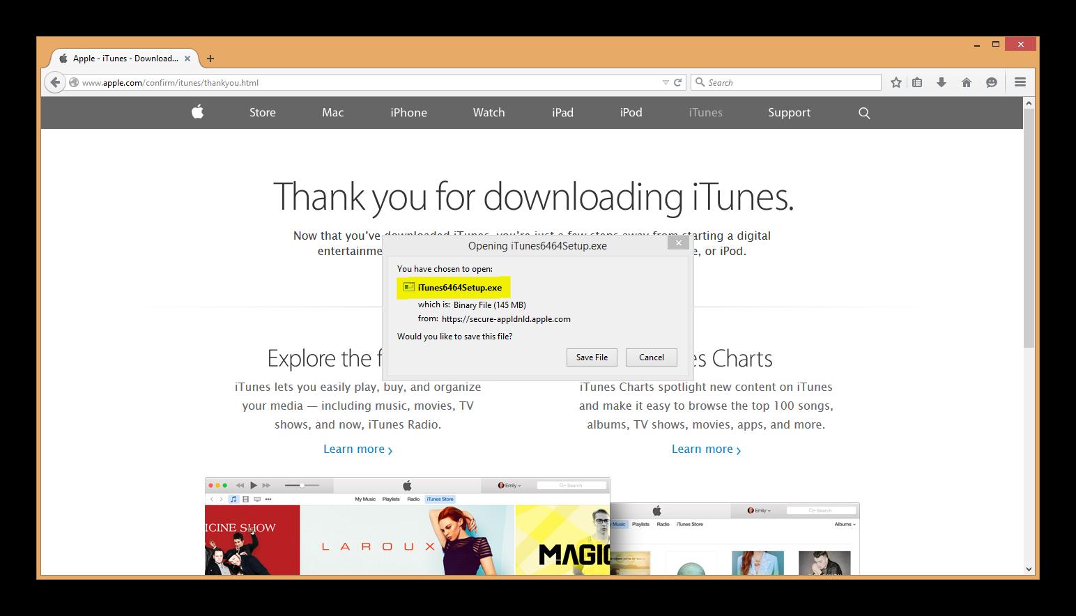 iTunes 64-bit version 12 1 2 27 setup ins… - Apple Community