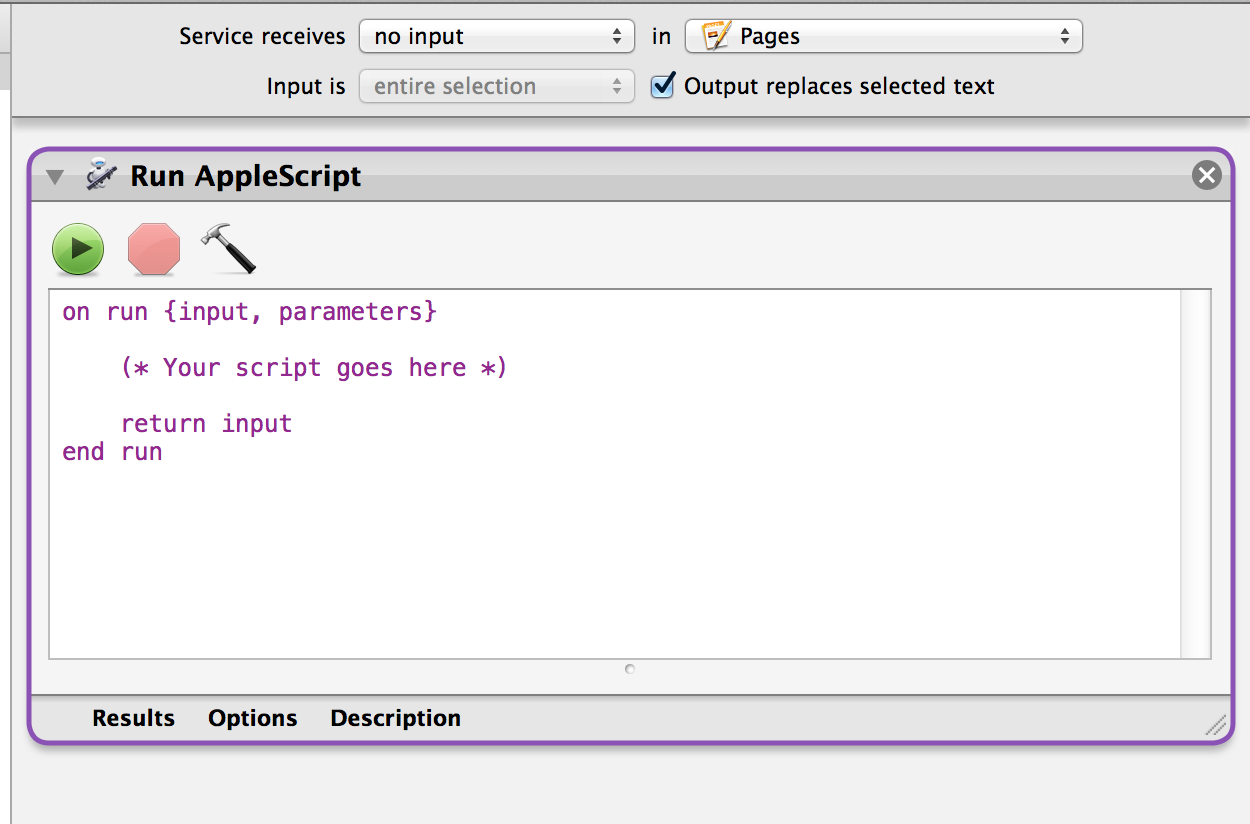 AppleScript+Pages: Export command alw… - Apple Community