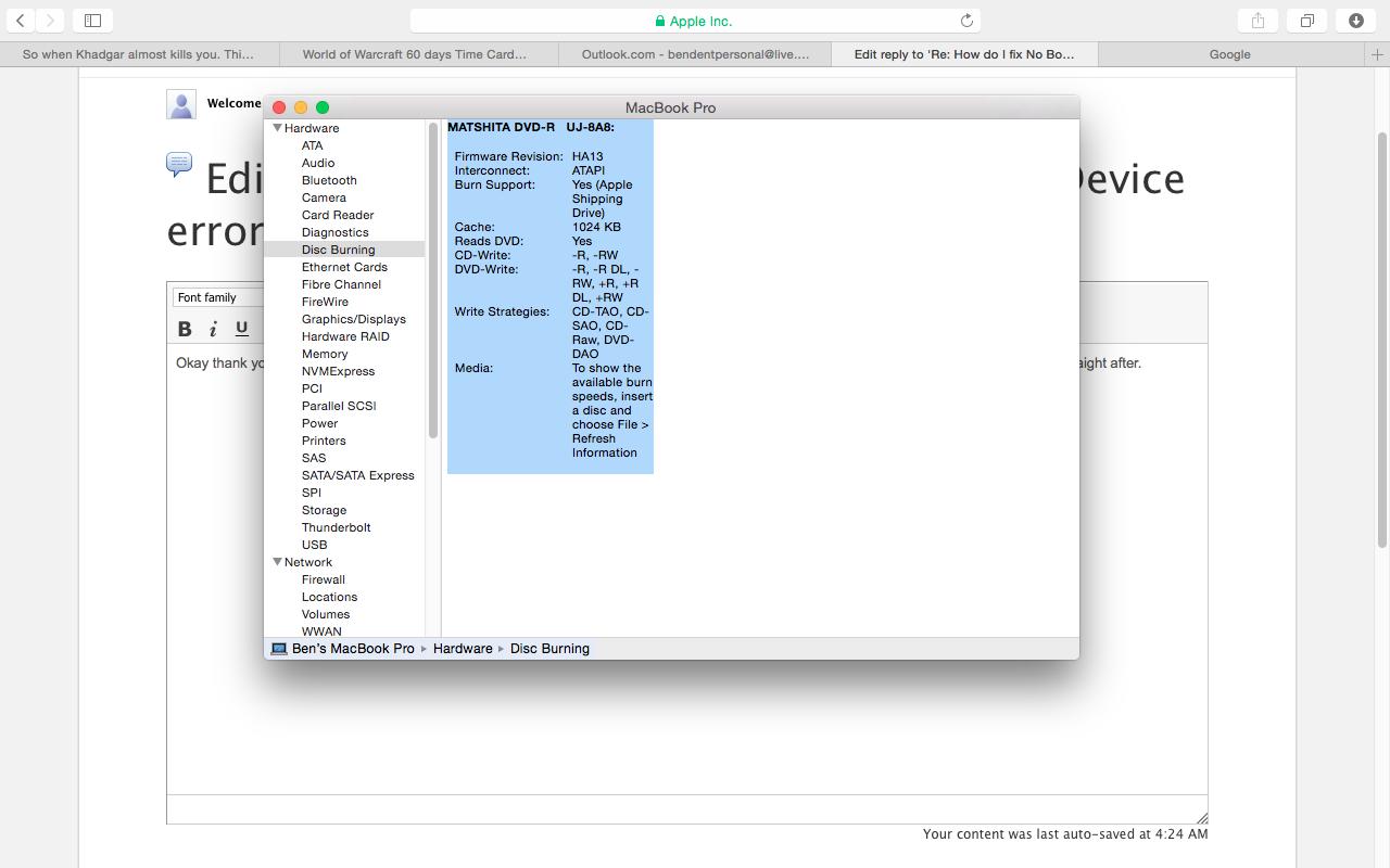 How do I fix No Bootable Device error? - Apple Community