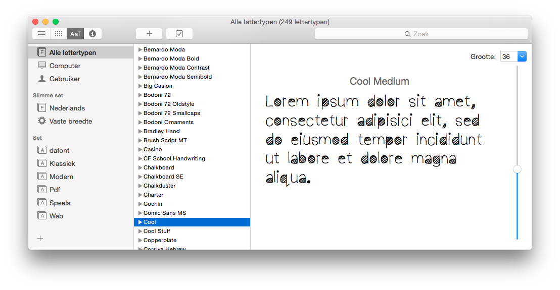 I downloaded some free fonts from the web… - Apple Community