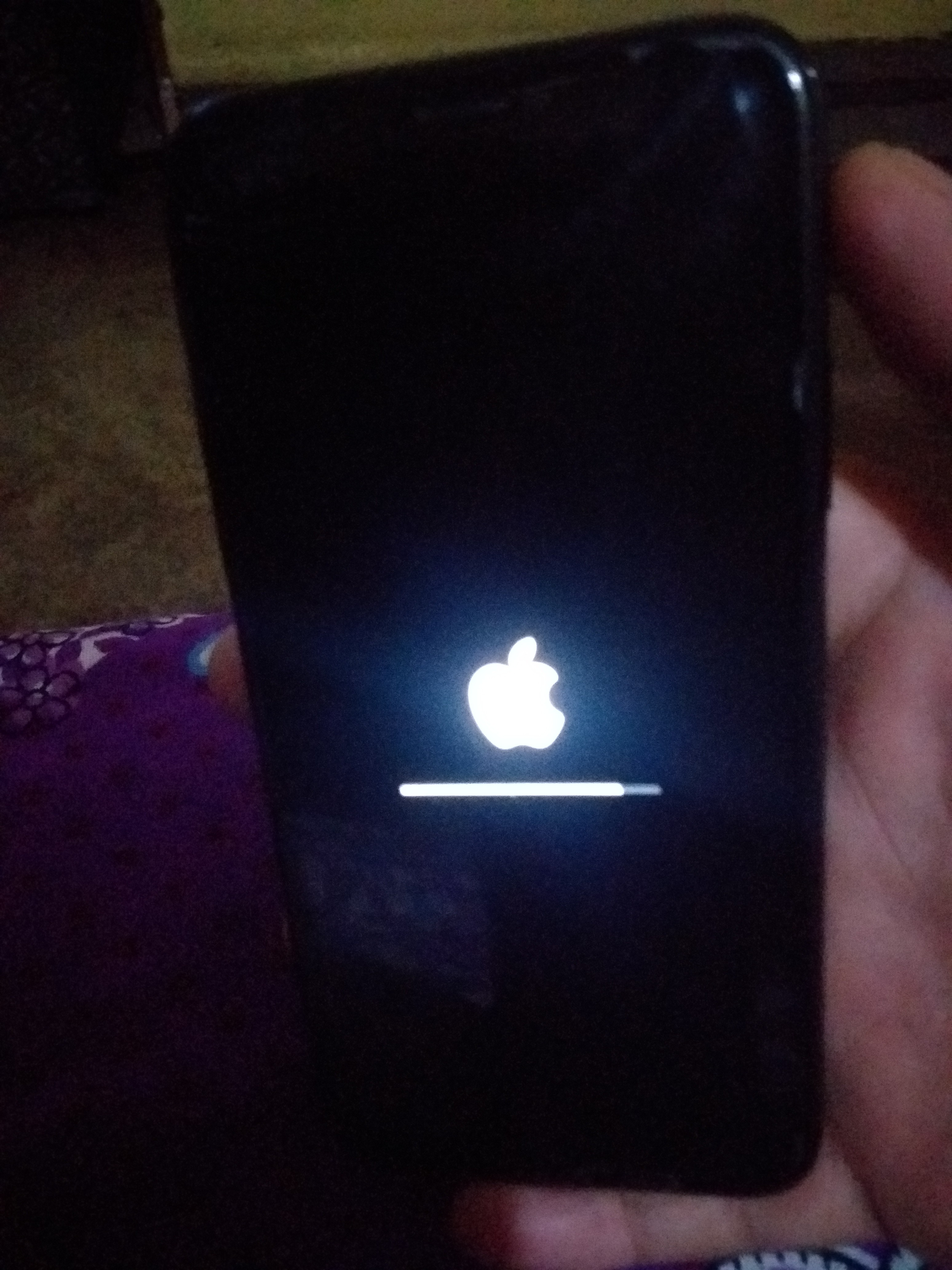 iphone froze while updating
