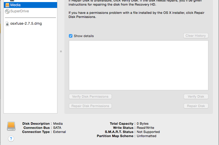 How to access external HD thru terminal - Apple Community