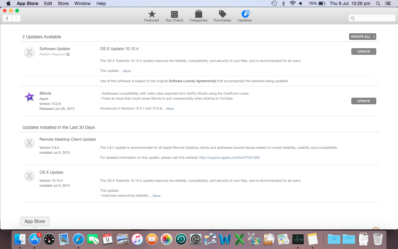 App Store gets stuck looking for updates - Apple Community