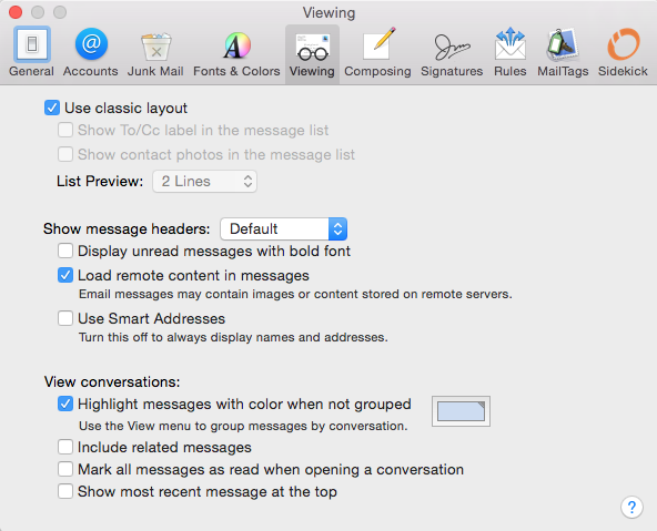 Mac Mail - Message Body Not Displayed - Apple Community