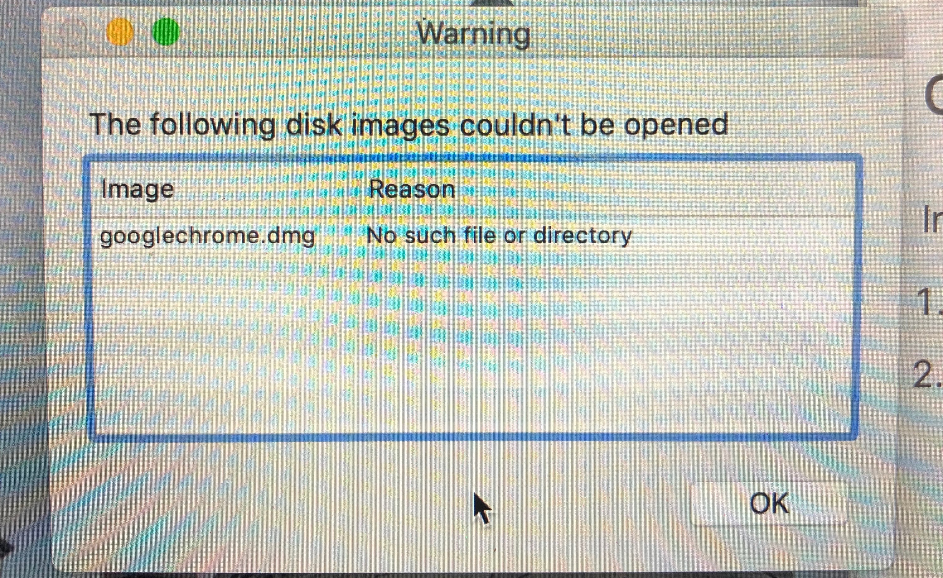 Can't Download Google Chrome - Apple Community