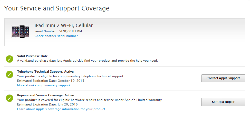Can I activate warranty iPad before seal … - Apple Community