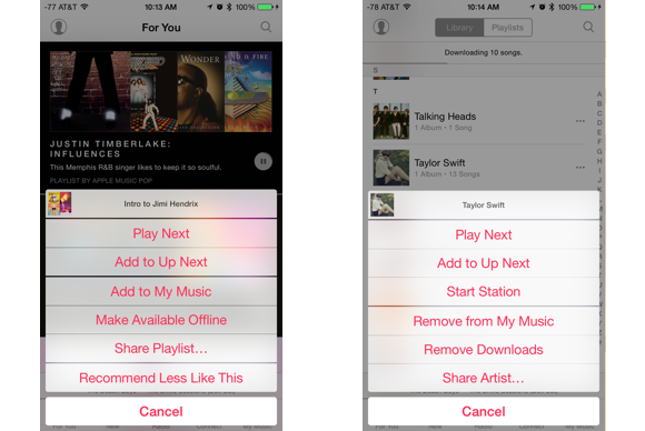 How to play music offline ios