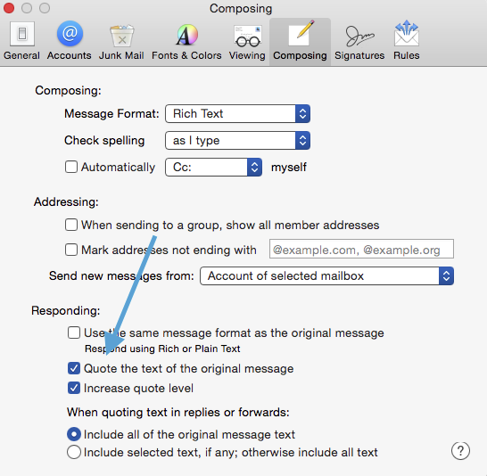 Why is Mail attaching replies as  html or… - Apple Community