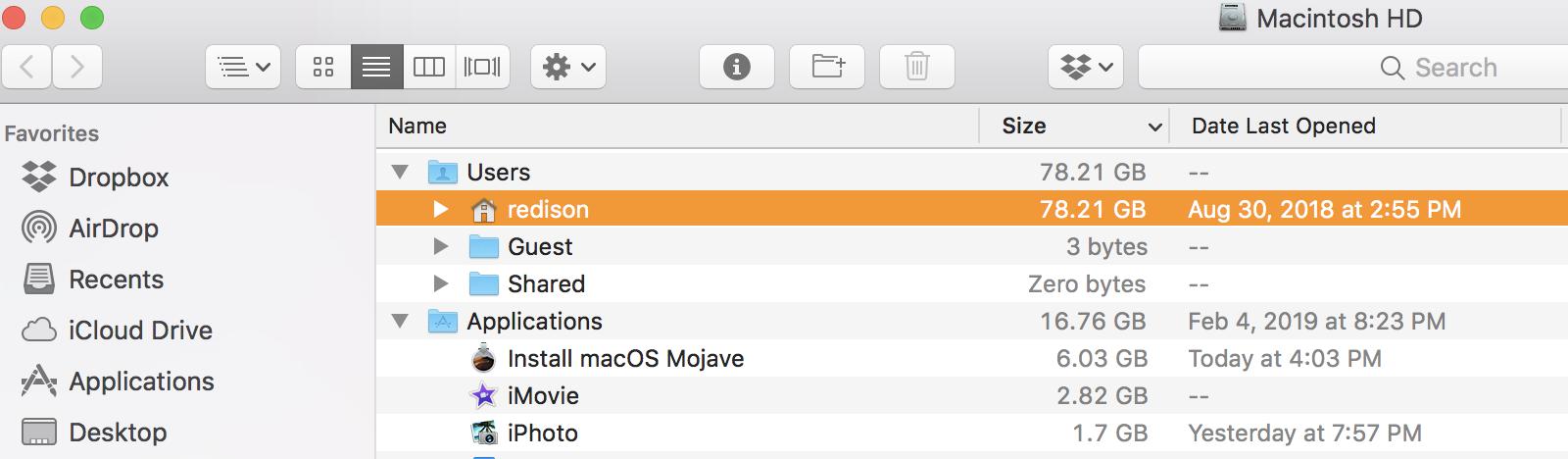 macOS Mojave won't install on my MacB… - Apple Community