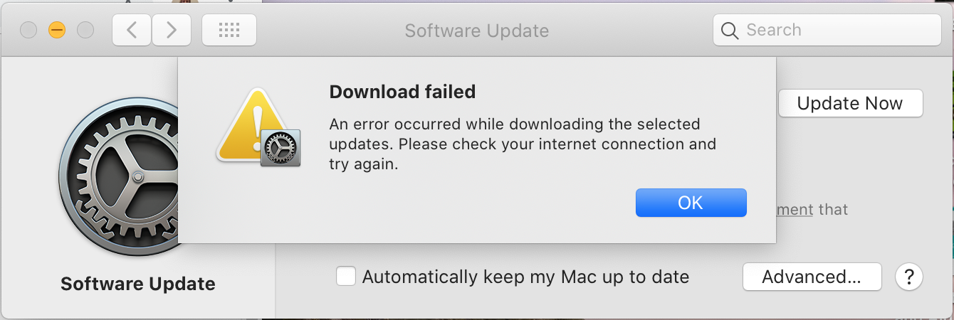 Tried to download java from internet to mac os x but can