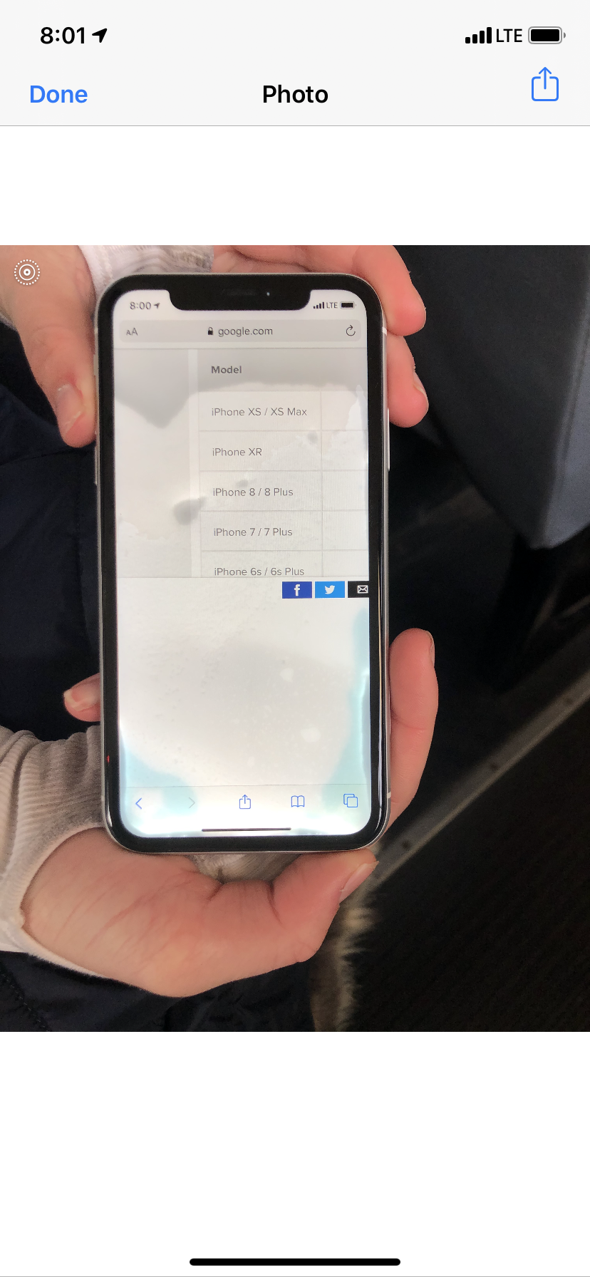 Water Damage In Iphone Xr Le Community