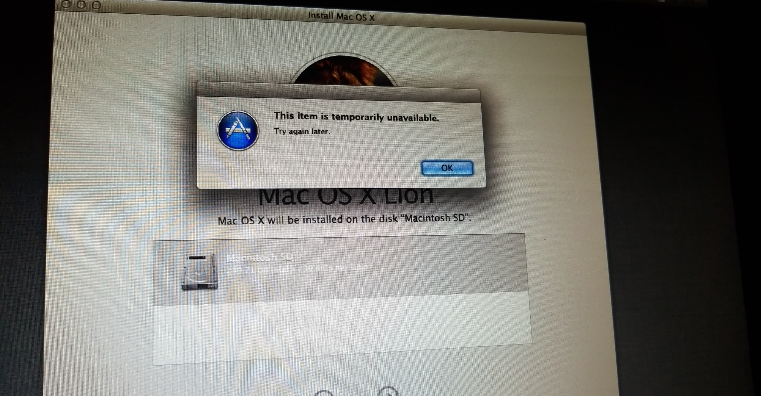 Top Five Mac Os X Lion App Store Temporarily Unavailable