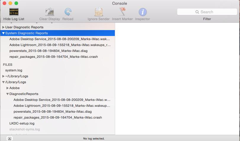 3 month old iMac suffering PANIC attacks - Apple Community