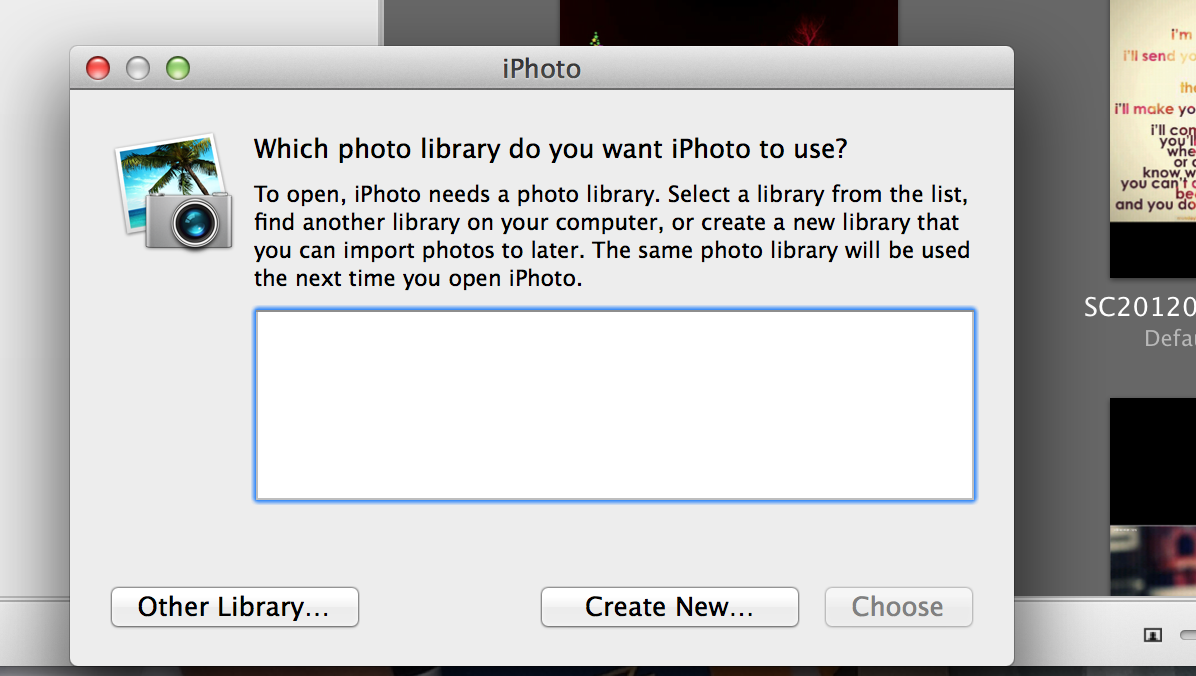 iPhoto not responding - Apple Community