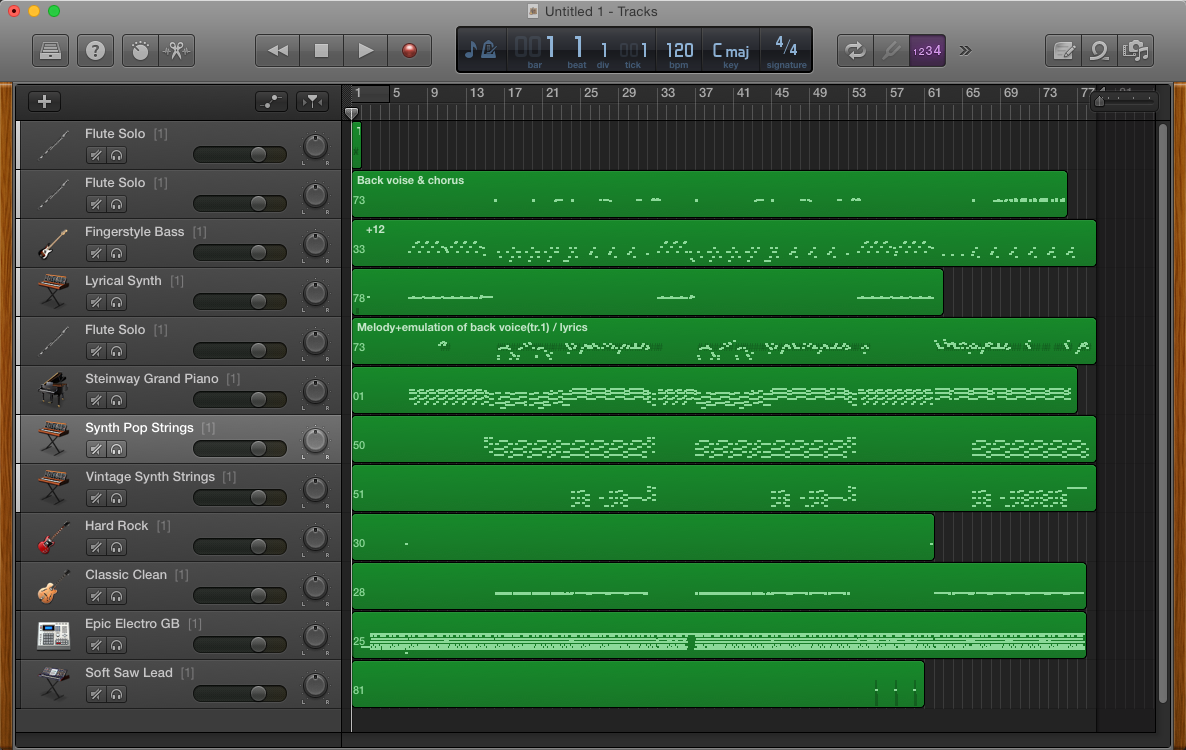 how to change a track to midi - Apple Community