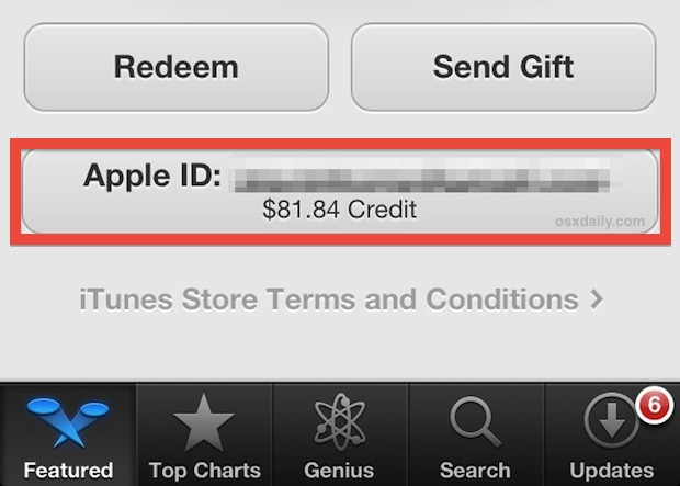 I redeemed an itunes gift card to my acco… - Apple Community