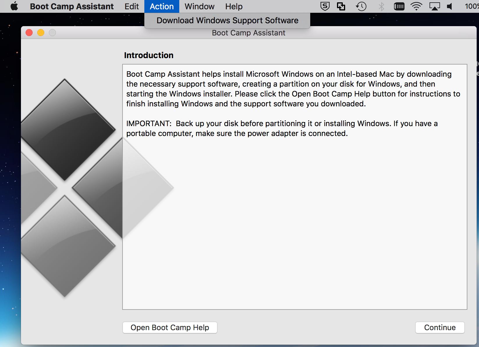 windows support software mac