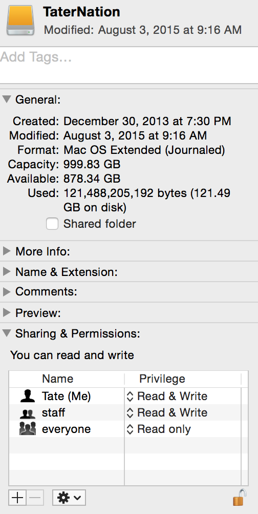 Unable to open iPhoto library on external… - Apple Community