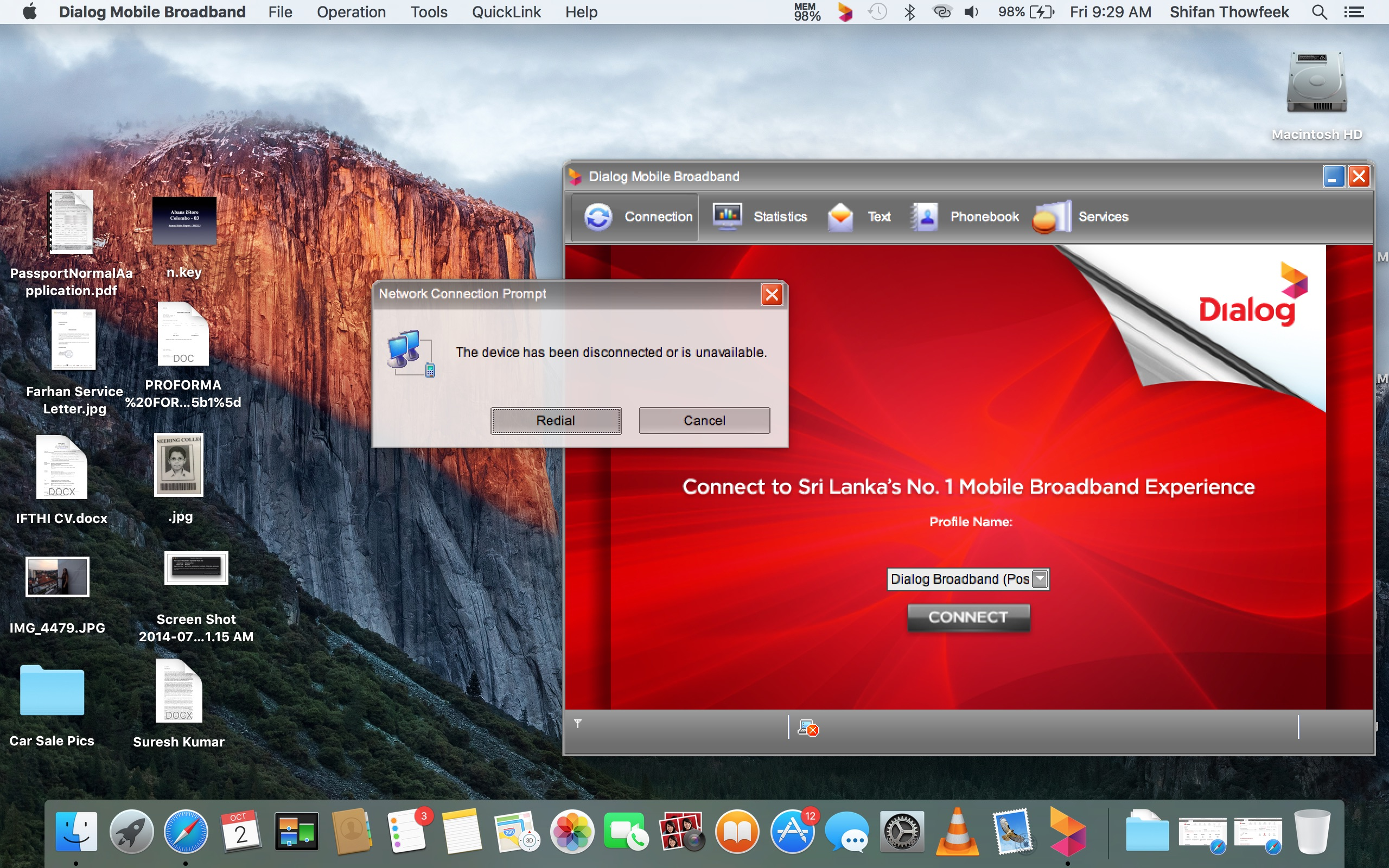 Huawei internet dongle not working in El … - Apple Community